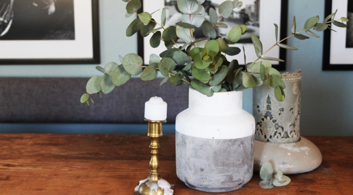 Styling with penny gum / eucalyptus